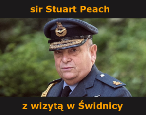 sir Stuart Peach z wizytą w Świdnicy
